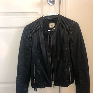 SALE ✨ Black Faux Leather Jacket | Size Small